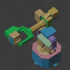 View2.JPG Download STL file 6DOF Robot Arm V2 • Design to 3D print, robolab19