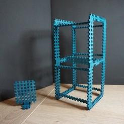 Télécharger fichier imprimante 3D gratuit Le constructeur de style Lego pour le prototypage et l'échafaudage, robolab19