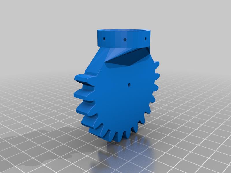 gear_base.png Télécharger fichier STL gratuit RoboDog v1.0 • Modèle pour imprimante 3D, robolab19