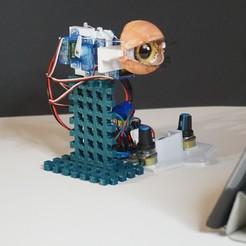Descargar modelo 3D gratis Ojo animatrónico (diseño compacto), robolab19
