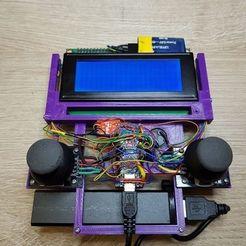 118309078_4933031480306293_346632821259413787_n.jpg Download free STL file Remote Control for DIY robots • 3D printing design, robolab19