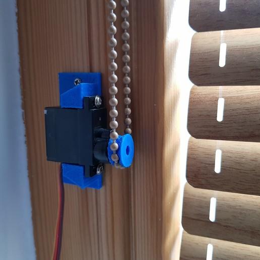 Télécharger fichier STL gratuit Poulie aveugle pour servo 9gr • Objet imprimable en 3D, robolab19