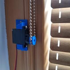 Download free 3D printing models Blind pulley for 9gr servo, robolab19