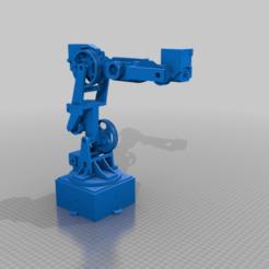 OVERVIEW.png Télécharger fichier STL gratuit Pièces Joint5 et Joint6 pour le bras robotique 6DOF • Modèle à imprimer en 3D, robolab19