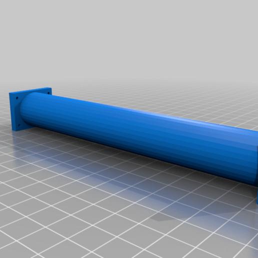 body_center_tube.png Download free STL file RoboDog v1.0 • 3D printing object, robolab19