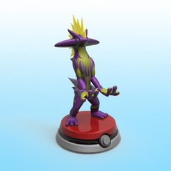 Descargar modelos 3D Pokemon Toxtricity Holder, PequeCris