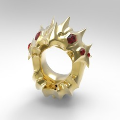 oro frontal.jpg Download free STL file Kog Maw Ring • 3D printer design, PequeCris