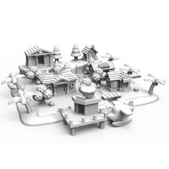 Mapa decoracion.jpg Download free STL file Animal MICROsing Map • 3D print object, PequeCris