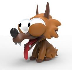 Descargar modelo 3D Wolf, PequeCris