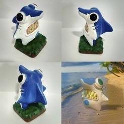 Descargar STL Shark, PequeCris