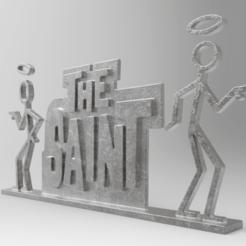 Download free 3D print files The Saint, PequeCris