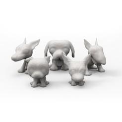 Impresiones 3D Dog pigheaded, PequeCris