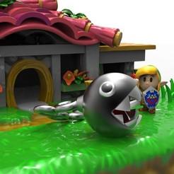 zelda color.22.jpg Download STL file House The Legend of Zelda: Link's Awakening • Model to 3D print, PequeCris