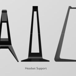Download free STL Headset Support, wmontoza