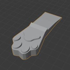 Descargar modelos 3D gratis Dog Paw Doorstop, wmontoza