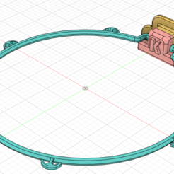 Descargar Modelos 3D para imprimir gratis Mini escudo de baloncesto con anillo, HoBaVoBa