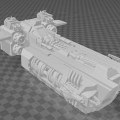 Capture.JPG Download free STL file Futuristic Gunship • 3D print model, subtlyfantastic
