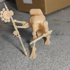 00000PORTRAIT_00000_BURST20200302182127894.jpg Download free STL file Robot Cybernetic Warleader • 3D printable template, subtlyfantastic