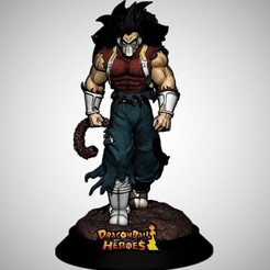 Download 3D printer model Cumber Dragon Ball Heroes, M3dStudios1