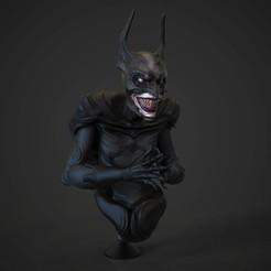 render1 .346.jpg Télécharger fichier STL Bat Badman (Batman) • Objet imprimable en 3D, M3dStudios1