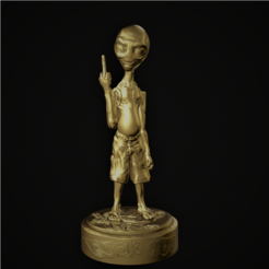Download 3D printing files Paul The Alien, M3dStudios1