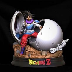 Download 3D printer designs Goku Capsule, M3dStudios1