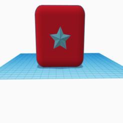 Download STL Single Star Pencil Holder, glyptikiind