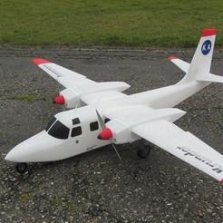 Descargar STL gratis Aero Commander 500S, KrunderAerospace