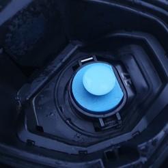 Impresiones 3D Capó para la escotilla de recarga del coche eléctrico Tipo 2 (Renault ZOE), Bugsmi