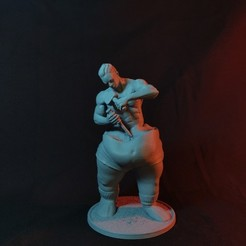 resize-photo.jpg Download STL file The Sculptor • 3D printer model, ChristosFragoulias