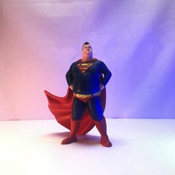 Front.jpg Download STL file Superman Retired • Template to 3D print, ChristosFragoulias