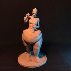 resize-front.jpg Download STL file The Sculptress • 3D printer model, ChristosFragoulias
