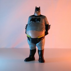 Download 3D printer model Batman Retired, ChristosFragoulias