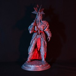 Download 3D printer designs King Leoric - The Skeleton King, ChristosFragoulias