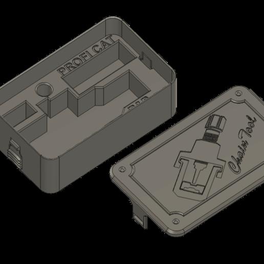 ChainTool_Box.png Télécharger fichier STL gratuit Boîte à outils de la chaîne • Design pour impression 3D, Sparhawk