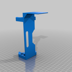 Download free 3D printing models Prusa LCD side mount, Sparhawk