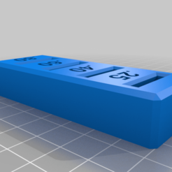 Download free 3D print files Stack for Nozzle Tags, Sparhawk