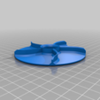 Stempel_Broetchenstempel_v1.png Télécharger fichier STL gratuit Timbre pour rouleau de pain | Brötchenstempel | Kaisersemmel • Plan imprimable en 3D, Sparhawk