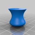 Knauf_Broetchenstempel_v1.png Télécharger fichier STL gratuit Timbre pour rouleau de pain | Brötchenstempel | Kaisersemmel • Plan imprimable en 3D, Sparhawk