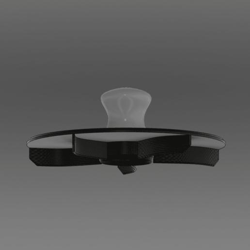 Broetchenstempel_v1.png Télécharger fichier STL gratuit Timbre pour rouleau de pain | Brötchenstempel | Kaisersemmel • Plan imprimable en 3D, Sparhawk