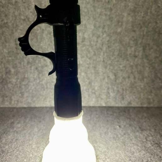 Download free STL file Flashlight Lantern • 3D printer design, Sparhawk