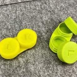 IMG_0169.jpeg Download free STL file Contact Lens Case | Kontaktlinsenbehälter • 3D printing template, Sparhawk