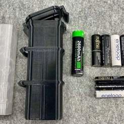 IMG_0126.jpeg Télécharger fichier STL gratuit Cell Safe - une boîte de rangement • Plan pour imprimante 3D, Sparhawk