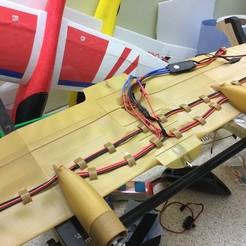 Descargar archivos 3D gratis Hércules Simple - RC Semi escala 1:32 C-130 Hércules - envergadura de 129 cm, Wright301