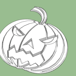Download free 3D model Pumpkin for Halloween, shady333