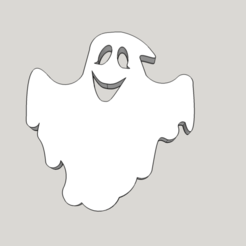 Descargar archivos 3D gratis Divertido fantasma 2D, shady333