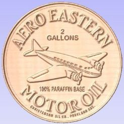 Download free 3D printing designs Aero Eastern Oil, cult99