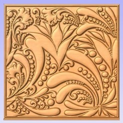 Download free 3D printer designs Paisley Pattern, cult99
