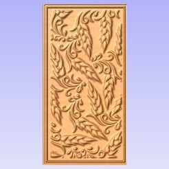 Download free STL files Wheat wall panel, Cult99