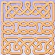 Download free 3D printing designs Intertwined Panel, Cult99